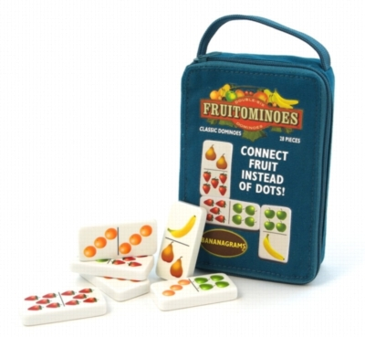 Fruitominoes, 28 Dominoes + Pouch