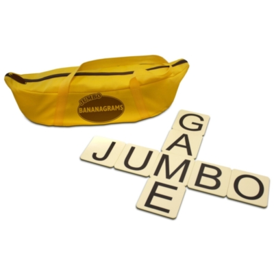 "Jumbo Bananagrams, 144 3"" Tiles - Anagram Game"