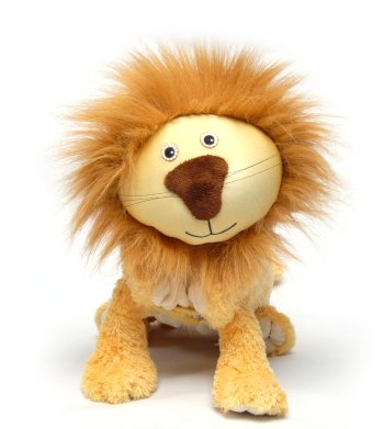 "Lencho (Plush / Pillow / Blanket) - 23.5"" Lion By Zoobie Pets"
