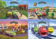 Chuggington� - 4 Seasons - 4x35pc Jigsaw Puzzle By Ravensburger