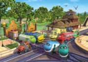 Chuggington - Safari Chuggers - 35pc Jigsaw Puzzle By Ravensburger