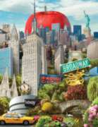 The Big Apple - 1000pc Jigsaw Puzzle By White Mountain