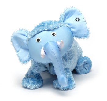 "Ellema (Plush / Pillow / Blanket) - 21.5"" Elephant By Zoobie Pets"