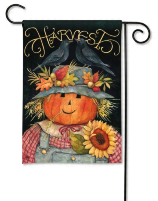 Harvest Scarecrow - Garden Flag by Magnet Works