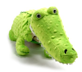 "Kojo (Plush / Pillow / Blanket) - 32.5"" Crocodile By Zoobie Pets"