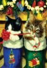 Stocking Kittens - Standard Flag by Toland