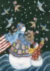 American Snowman - Standard Flag by Toland
