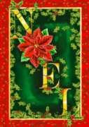 Noel - Garden Flag by Toland