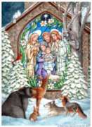 Winter Nativity - Garden Flag by Toland