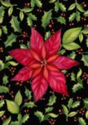 Poinsettia - Standard Flag by Toland