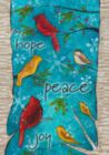 Peace Birds - Garden Flag by Toland