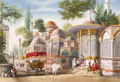 Jigsaw Puzzles - Sehzade Camii, Istanbul