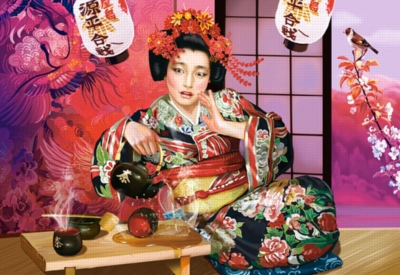 Jigsaw Puzzles - Geisha Tea Ceremony