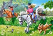 Jigsaw Puzzles - Horse Jumping