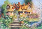 Cottage with Pond - 500pc Jigsaw Puzzle by Castorland