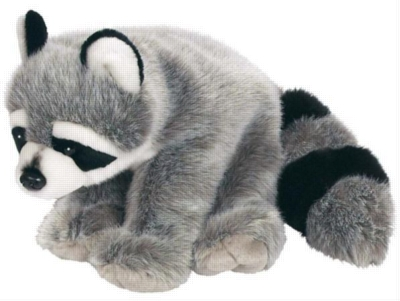 "Raccoon - 12"" Raccoon By Wild Republic"
