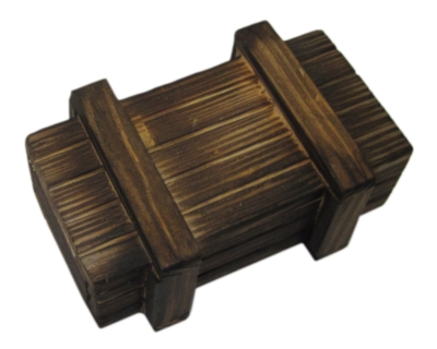 Seriously Secret Treasure Box: Classic Wood - Money Puzzle