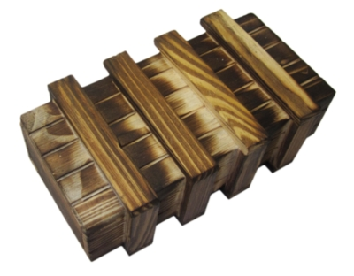 Seriously Secret Treasure Box: ADVANCED, Classic Wood - Money Puzzle