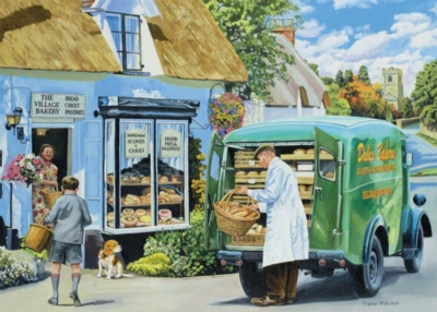 The Baker - 1000pc Jigsaw Puzzle By Holdson