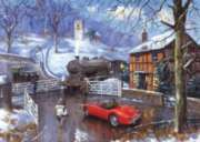 The Railway Crossing - 1000pc Jigsaw Puzzle By Holdson