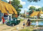 The Village Postman - 1000pc Jigsaw Puzzle By Holdson