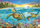Turtle Cove - 1000pc Jigsaw Puzzle By Holdson