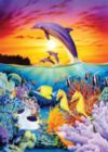 Seahorse Dolphins - 1000pc Jigsaw Puzzle By Holdson