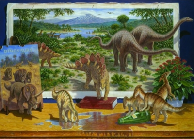 Jigsaw Puzzles - Dinosaurs