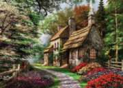 Carnation Cottage - 1000pc Jigsaw Puzzle By Holdson