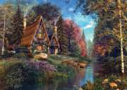 Fairytale Cottage - 1000pc Jigsaw Puzzle By Holdson