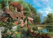 Riverside Home - 1000pc Jigsaw Puzzle By Holdson