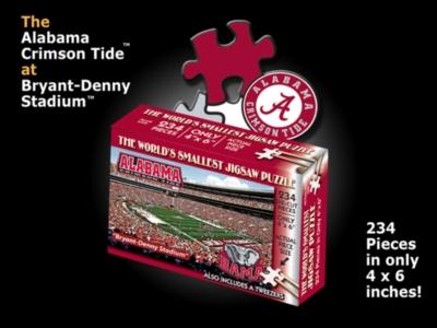 Alabama, Bryant-Denny Stadium - 234pc TDC Miniature Jigsaw Puzzle