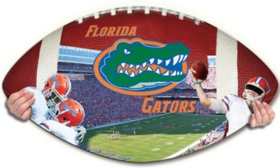 Florida Gators - 550pc Shaped Jigsaw Puzzle by TDC