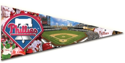 MLB: Philadelphia Phillies - 300pc Pennant-Shaped Jigsaw Puzzle by TDC