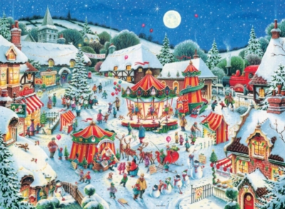 The Christmas Fair - 200pc Jigsaw Puzzle by Ravensburger