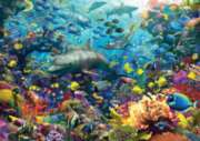 Colorful Underwater Kingdom - 1000pc Augmented Reality Puzzle By Ravensburger