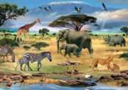 Puzzles for Adults - Animals of Africa