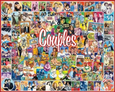 Couples - 1000pc Jigsaw Puzzle By White Mountain