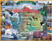 Washington - 1000pc Jigsaw Puzzle By White Mountain