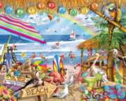 Happy Hour - 1000pc Jigsaw Puzzle By White Mountain