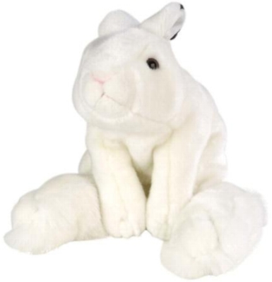 "Snowshoe Hare - 12"" Rabbit By Wild Republic"