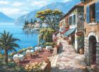 Overlook Cafe Ii - 1000pc Jigsaw Puzzle by Perre