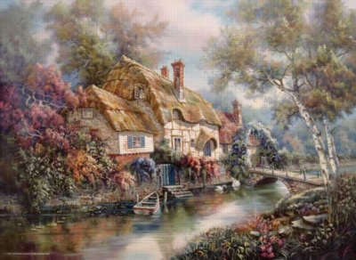 Stonewall Cottage - 1000pc Jigsaw Puzzle by Perre
