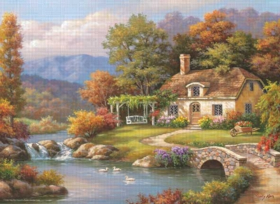 Perre Jigsaw Puzzles - Cottage Stream