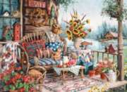 Country Hideway - 1000pc Jigsaw Puzzle by Perre