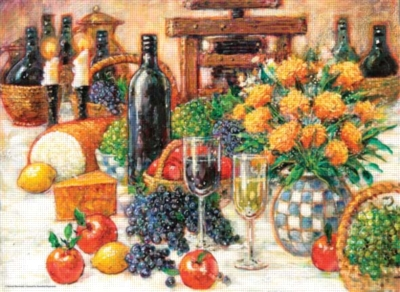 Tuscan Still Life - 1000pc Jigsaw Puzzle by Perre
