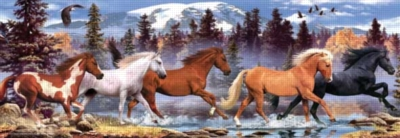 Running Horse - 1000pc Jigsaw Puzzle by Perre