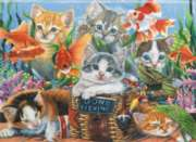 Gone Fishing - 1000pc Jigsaw Puzzle by Perre