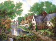 Chelswort Village - 1000pc Jigsaw Puzzle by Perre