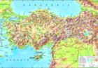 Turkey Topographical Map - 260pc Jigsaw Puzzle by Perre